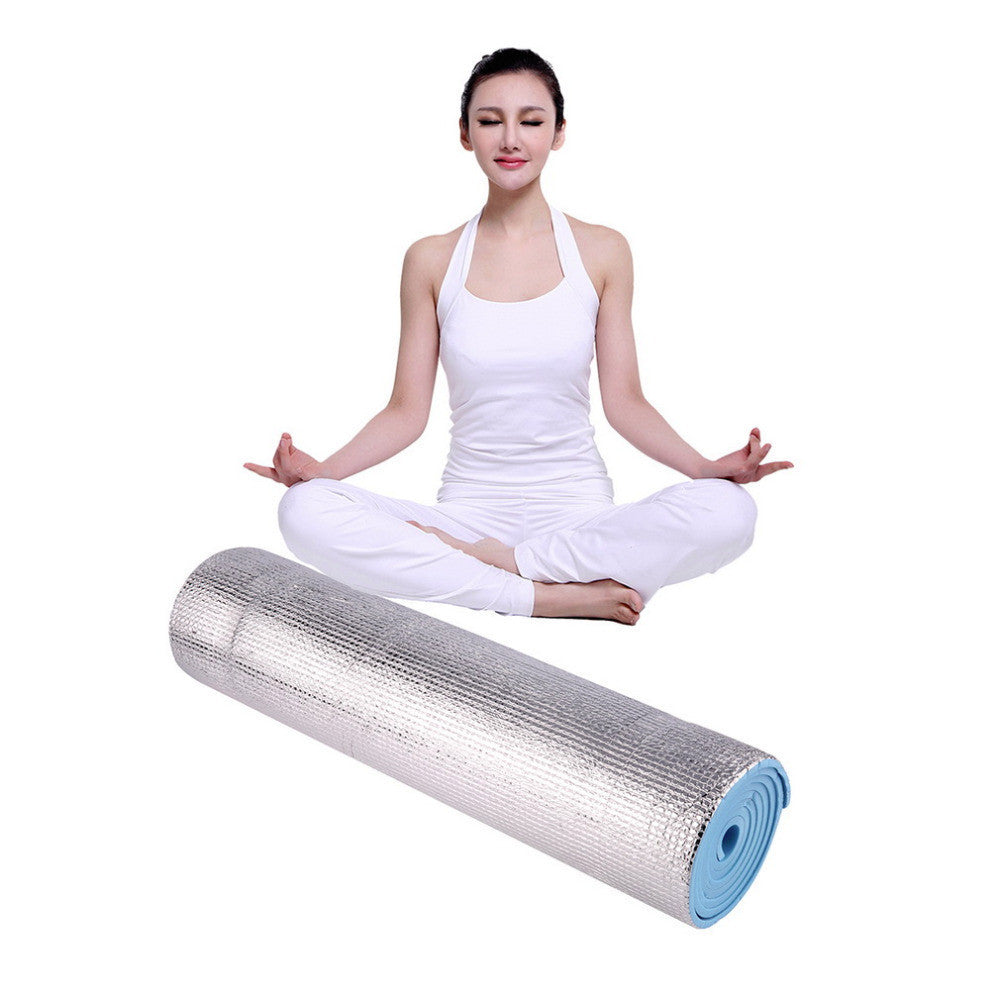 180x50x0.6cm Aluminium Foam Picnic Yoga Fitness Outdoor Exercise Pad Mats Deals Blast