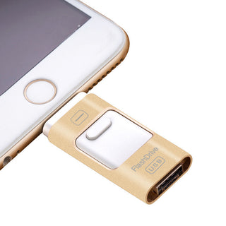 Usb Flash Drive For iphone 7 6s 6 Plus 5 5S ipad Pendrive OTG 8gb 16gb 32gb 64gb Pen drive HD external storage memory stick New - Deals Blast