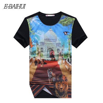 Deal Blast: Best Seller Mens t shirts marcelo burlon t shirt casual tops tees Fitness Men Deals Blast