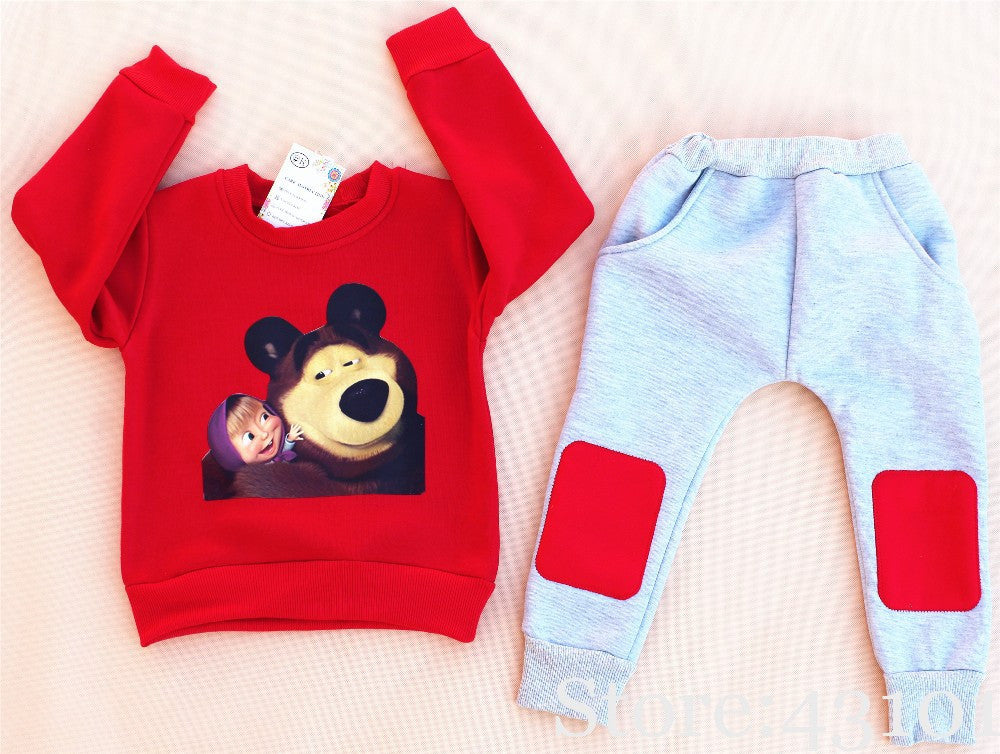 Deals Blast: Best Seller 2016 Christmas Baby Boy Clothes Winter Children Girls Children's Girls Clothing Child Boy Clothing Set Kids Clothes Boys Sets Deals Blast
