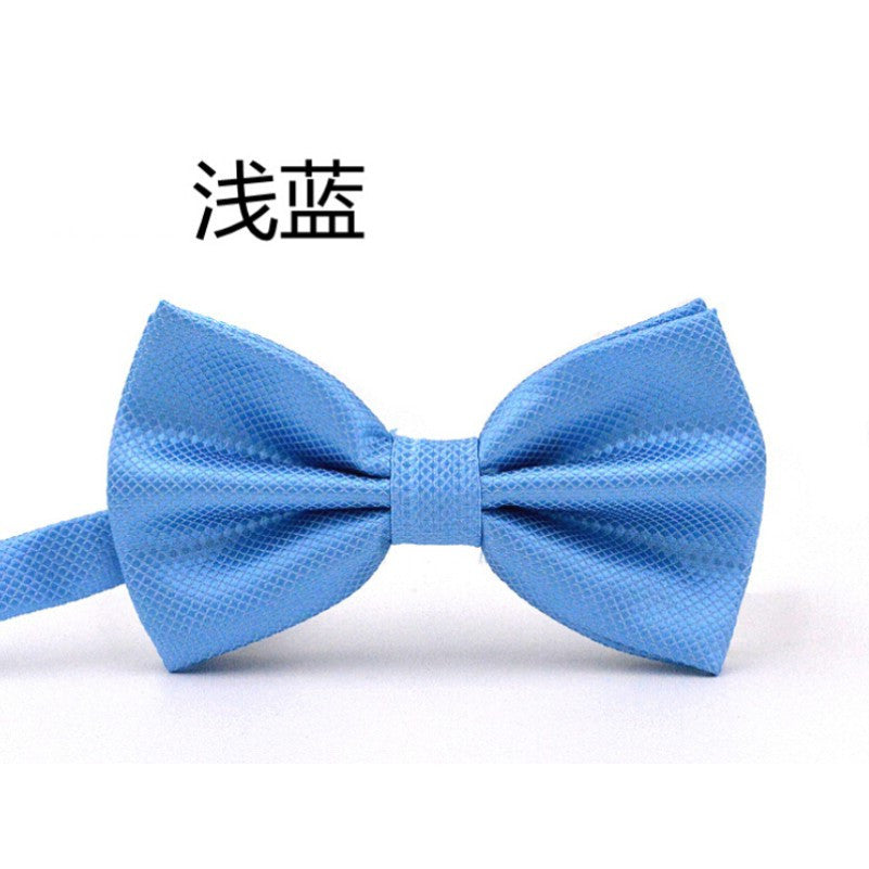 20 Colors Solid Fashion Bowties Groom Men Colourful Plaid Cravat gravata Male Marriage Butterfly Wedding Bow ties Deals Blast