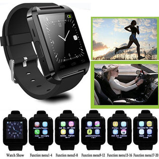 Sport Bluetooth U8 Wrist Smart Watch Phone Mate For Android Samsung LG Alcatel Motorola Huawei Lenovo Apple iPhone7 6 6S - Deals Blast
