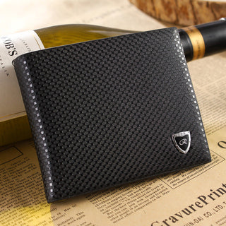 Promotion! Free shipping fashion DOT pattern men genuine leather Cross paragraph Money clips&wallet_High quality man wallet - Deals Blast