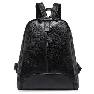 Designe Women's Backpacks Genuine Leather Female Backpack Women Schoolbag For Girls Large Capacity Shoulder Travel Mochila Bolsa - Deals Blast