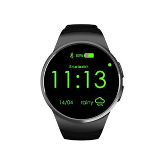 Original KW18 Smart Watch SIM MTK2502 Bluetooth Smartwatch Android ios Smart Watches For Apple Samsung Moto360 Phone smart wacht - Deals Blast