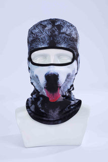 Hot Sale 3D Cap Dog Animal Outdoor Sports Bicycle Cycling Motorcycle Masks Ski Hood Hat Veil Balaclava UV Full Face Mask - Deals Blast