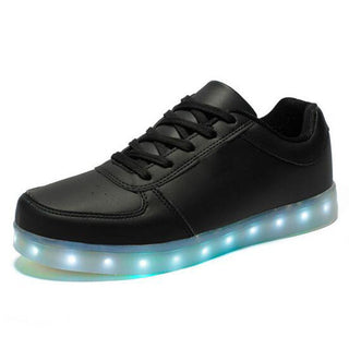 USB Charging Basket Led Children Shoes With Light Up Kids Casual Boys&Girls Luminous Sneakers Glowing Shoes enfant - Deals Blast