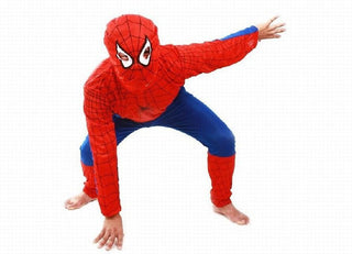 Spider Man Children Clothing Sets Christmas Spiderman Cosplay Costume Kids Pajama Sets Long Sleeve Toddler Baby Sleepwear - Deals Blast