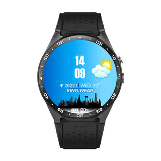 Kingwear Kw88 android 5.1 OS Smart watch electronics android 1.39 inch mtk6580 SmartWatch phone support 3G wifi nano SIM WCDMA - Deals Blast