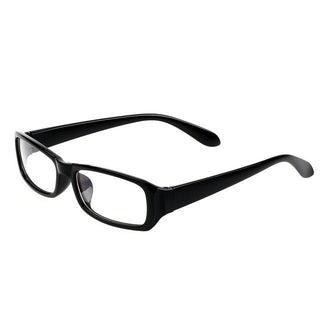 Fashion Men Women Radiation protection Glasses Computer Eyeglasses Frame anti-fatigue goggles Blue Film Anti-UV Plain mirror: Deals Blast