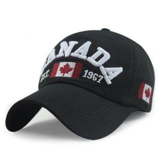 New Arrivals Cotton Gorras Canada Cap Flag Of Canada Hat Snapback Adjuatable Mens Baseball Caps Brand New For Adult - Deals Blast