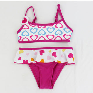 Children Swimwear girls Flowers Bikini baby kids biquini infantil swimsuits bikini girl Floral bathing suit 5 Colors - Deals Blast