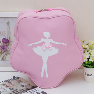 Fashion Children Dance Bag Girls Princess Cute Ballet Pink Backpack Care Package with bow - Deals Blast