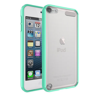 Case For iPod Touch 5/iPod Touch 6 Soft TPU PC Back Hybrid Phone Cases Covers Shockproof Anti-scratch -Clear Slim - Deals Blast