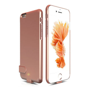 Ultra thin Rechargeable External Battery Case for iPhone 6 6s Case Backup Charger Case for iPhone 6s 6 7 7Plus Power Bank Cover: Deals Blast