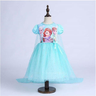 New High quality Kids princess sofia dress for baby girls snow White Cosplay Costume children christmas party tutu dresses: Deals Blast