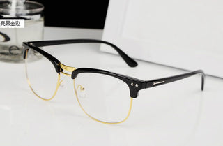 2017 new design Fashion Metal Frame Glasses Frame Retro style Woman Men Reading Glasses UV Protection Computer Eyeglass - Deals Blast