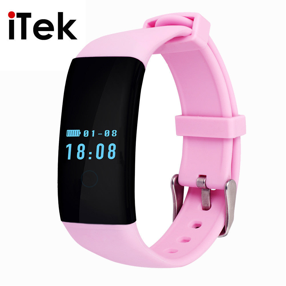 Deal Blast: TK04 Bluetooth4.0 Fit Bit Smart Wrist Band Inteligente Bracelet with Heart Rate Monitor for iOS&Android Better than fitbit - Deals Blast