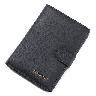 Luxury Famous Brand Handy Portfolio Genuine Leather Men Wallet Purse Male Clutch Bags With Money Portomonee Cuzdan Vallet Walet: Deals Blast