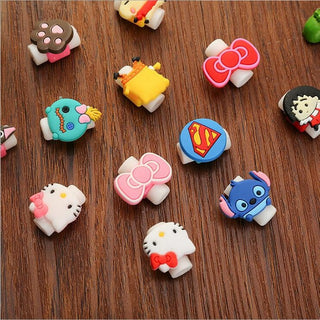 10pcs/ Lot  Line Protection Sleeve Creative Cute   Data Cable Charging Cable Protective Sleeve  Headphone Cable - Deals Blast