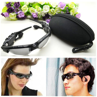 Polarized Men Women Smart Sunglasses Wireless Bluetooth Wearable Smart Glasses For iPhone Samsung Xiaomi LG Smartphones - Deals Blast