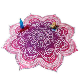 Fashion Lotus Flower Design Indian Mandala Tapestry Wall Hanging Bedspread Blanket Boho Hippie Yoga Mat Beach Throw Towel: Deals Blast