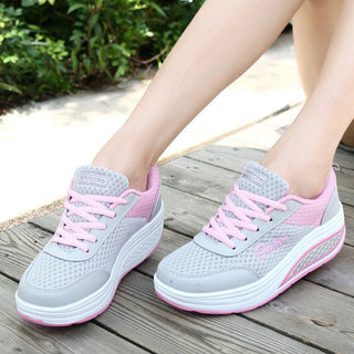 2017 Slimming shoes women fashion casual shoes women Fitness Lady Swing Shoes Summer Top quality increasing shoes - Deals Blast