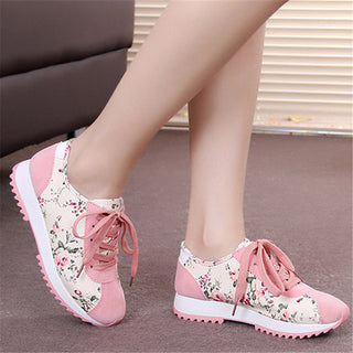 Spring and autumn season breathable women's casual shoes multicolor shoes slimming shoes Zapatos platform shoes: Deals Blast