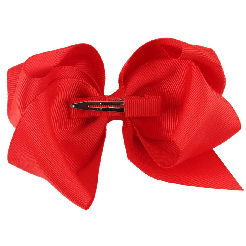 Deals Blast: Newly Design Fashion Big Bow Hairpins Hair Clips For Children Kids Girls Hair Accessories Deals Blast