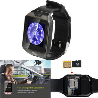 Screen Touch Bluetooth Wrist Smart Watch Phone With Camera Pedometer For Android Galaxy S7 S6 S5 Note 5 LG G5 Huawei IOS iPhone - Deals Blast