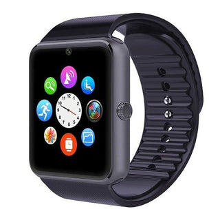 Smart Watches GT08 Bluetooth Connectivity for iPhone Android Phone Smart Electronics with Sim Card Push Messages - Deals Blast