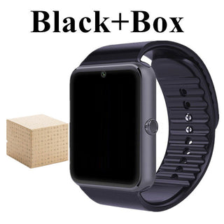 Smart Watch GT08 Clock Sync Notifier Bluetooth Connectivity Android Phone for Apple iPhone IOS Smartwatch With Sim Card Slot - Deals Blast