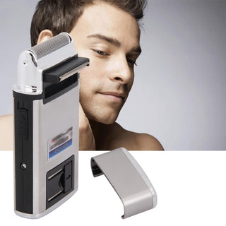 New 220V Portable Electric Rechargeable Reciprocating-type Shaver Men Beard Trimmer Razor Face Care RSCW-A28: Deals Blast