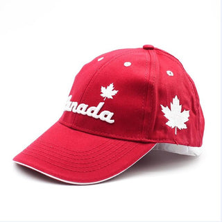 Patriotic Canada Embroidered Cotton Baseball Cap Free Shipping - Deals Blast