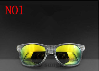 Fashionable comfortable Men/Women Eyewear Summer Sunglasses Mirror Lense Sun Glasses UV 400 Protection Sunglasses - Deals Blast