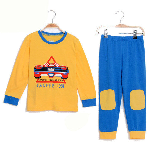 2-7Y Kids Clothes Boys Clothing Sets Cotton Baby Boys Pijamas Children's Pyjamas Sleepwear Kids Boys Pajamas Toddler Clothing - Deals Blast