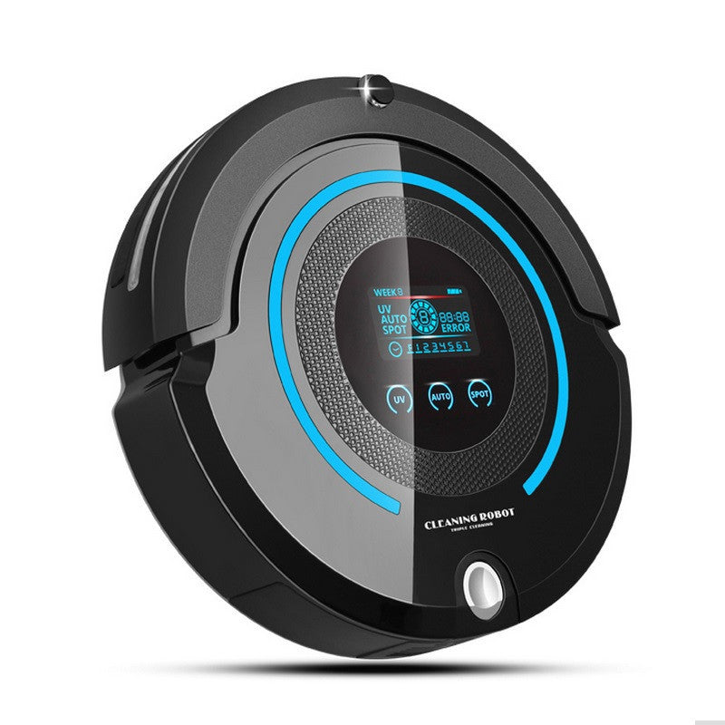 2017 Most Advanced Robot Vacuum Cleaner For Home (Sweep,Vacuum,Mop,Sterilize) With Remote control, LCD touch screen, schedule - Deals Blast