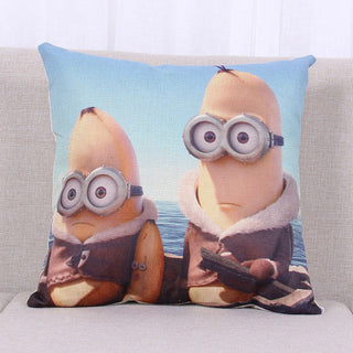 Super Hot Cartoon Minion Child Bed Cushion With No Core Home Decor Emoticon Sofa Throw Pillow For Chair Emoji Funda Cojin: Deals Blast