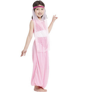 Little Adventures Aladdin Arabian Princess Dress kids Costume girls belly dance Fancy Pink dress outfit Coaplay clothing: Deals Blast