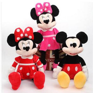 30cm Hot Sale High Quality New Lovely Mickey Mouse Plush Toy Minnie Doll Christmas birthday gifts: Deals Blast