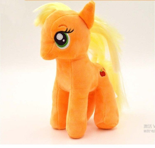 18cm Cartoon my beautiful little Rainbow horse Soft Plush poni Animal dolls for Baby children Christmas #Gift toys - Deals Blast
