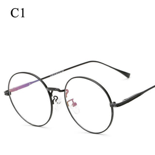 Cat Eye Eyewear Frames Men Women Frame Glasses Women Brand Designer Clear Lens Half Rim Glasses Frame Women Male Sunglasses - Deals Blast
