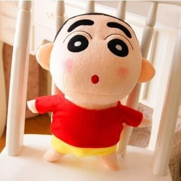 1pcs 20cm Crayon Shin Chan Stuffed Plush Doll Japanese Anime Action Figure For Best Gift Plush Doll Plush Toys Gift For Girl - Deals Blast