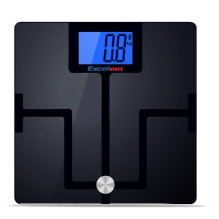 Excelvan 180kg/400lbs Digital Bluetooth Bathroom Body Fat Scale with App for iOS Android Devices Wireless Smart Body Analyzer - Deals Blast