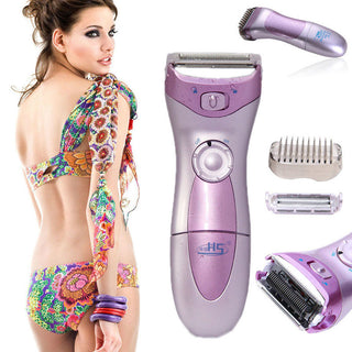 New HS-3001 Wet Dry Lady  Shaver Bikini Line  Cordless Trimmer  Women's Hair Remover: Deals Blast
