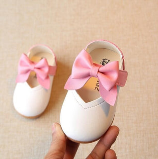 Spring Summer Baby Girls Toddler Leather Shoes Soft Bottom Infant Shoes Lovely Bowknot Princess Shoes Kids Shoes - Deals Blast