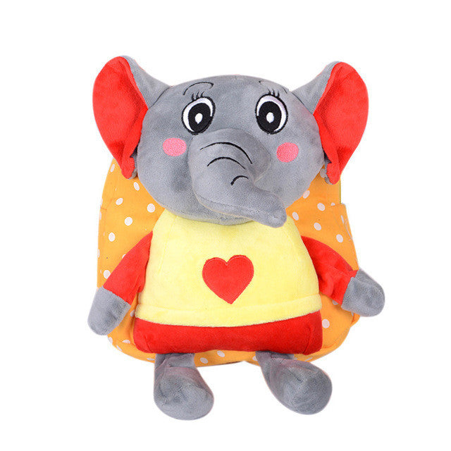1-5Y Baby Children Harnesses Bags Elephant Kids New Plush Harness Backpacks Children's Gifts  for Girls Boys zl620 - Deals Blast