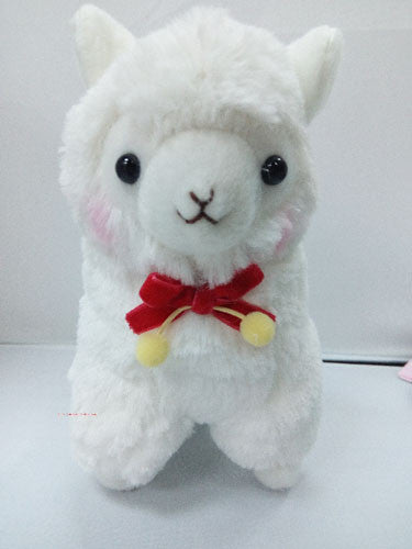 17cm Cute Lovely Animal Alpaca Vicugna Pacos Lama Arpakasso Alpacasso Soft Stuffed Plush Doll Toy - Deals Blast