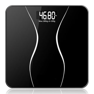 A2 lcd display household floor scales body electronic digital bathroom weighing weight scale balance machine kitchen tools: Deals Blast