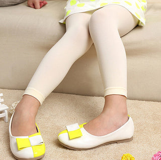 kids girl baby colorful tights stockings children ballet dance footless black or white tights stockings in opaque: Deals Blast